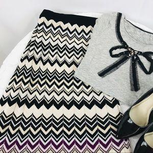 White House Black Market | Sweater Maxi Skirt